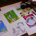 Melanie Tomlinson studio