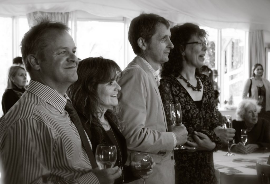 Guests Enjoying the Spring Soiree in 2014
